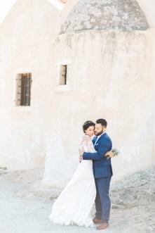 Professional wedding photoshoot in Crete Spinalongs Island