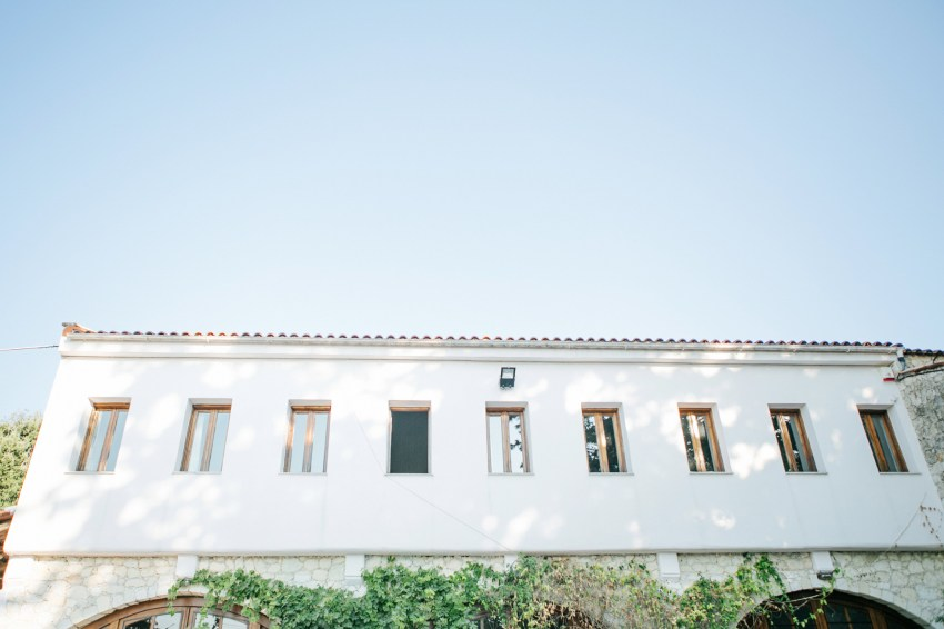 Fine art location shot of Dourakis winery in Chania by wedding photographer team.