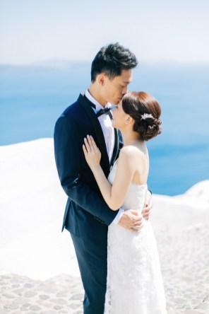 Professional Santorini wedding photoshoot