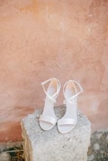 Elegant bridal detail photographed on a destination wedding day in Metohi Kindelis, Chania Crete.