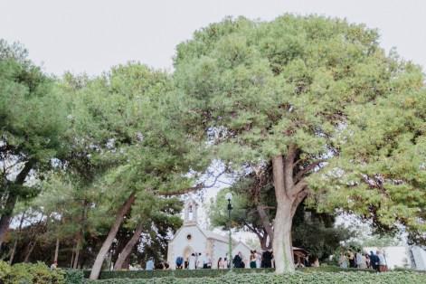 Beautiful scenery of a Greek destination wedding in Profitis Ilias, Chania, Crete.