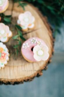 Wedding decoration for a wedding in Mykonos.