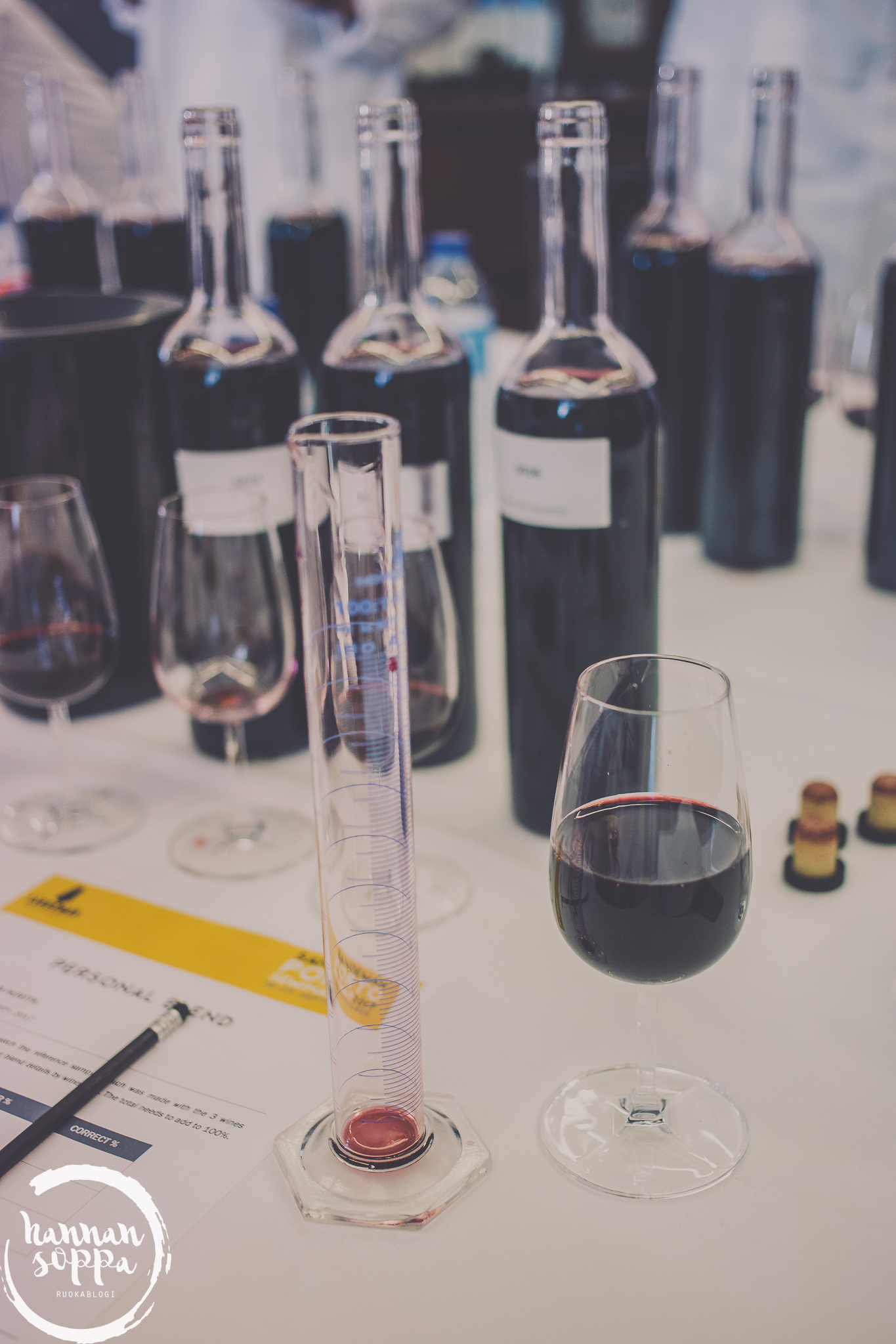 port wine blending / Hannan soppa