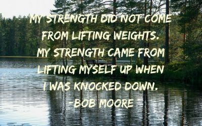 My Strength did not Come from Lifting Weights