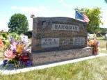 My father's grave at Sacred Hearts of Jesus and Mary Cemetery, Sun Prairie, Wis.