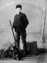 Frank Hanneman, 14, posed for this photo around 1910. Read more about him here: http://wp.me/p4FxQb-xx