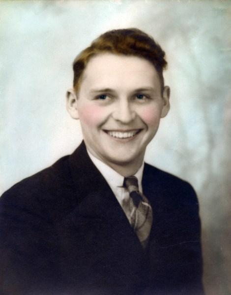 Marvin R. Treutel, circa 1938.