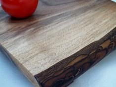 Live edge walnut cheese board