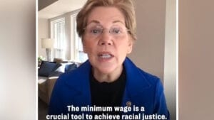 WARREN: Raising the Minimum Wage a 'Crucial Tool to Achieve Racial Justice' in the United States