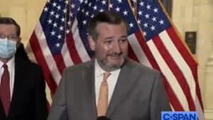 EPIC: Ted Cruz Educates Reporter Demanding He Wear a Mask AFTER Being Vaccinated