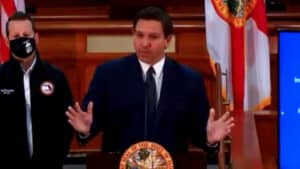 DeSANTIS: 60 MINUTES Spent Months in Florida Concocting 'Half-Baked Conspiracy Theories'