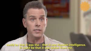 THIS IS REAL: Hunter Biden Says 'I Don't Know' if Stolen Laptop Was His, Says Could Be 'Russian Intelligence'