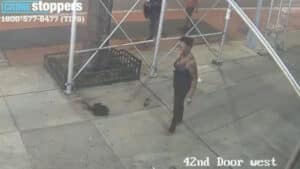 NYC SPIRALS: Asian Woman Attacked with a Hammer in New York's Times Square