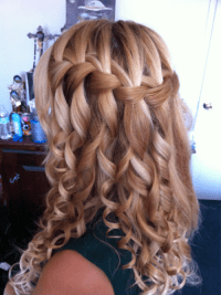 Waterfall Braid. | Fashion experiences from inside a ...