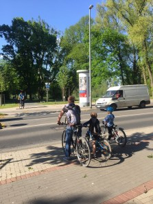 hannovercyclechic frust aufm fahrrad