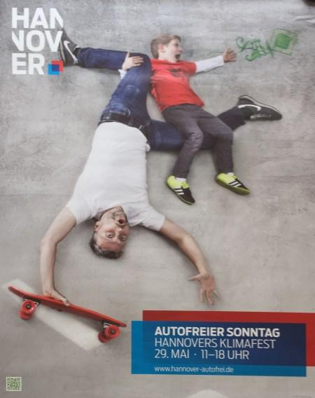 hannovercyclechic autofreier sonntag plakat