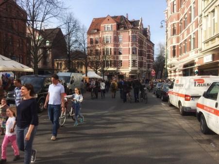 hannovercyclcechic lindener markt und stephanusstraße autofrei 2