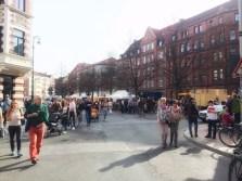 hannovercyclcechic lindener markt und stephanusstraße autofrei