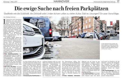 haz parkplatznot artikel