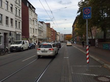 hannovercyclechic PlatzDa! auf der falkenstraße in Lannover-Linden