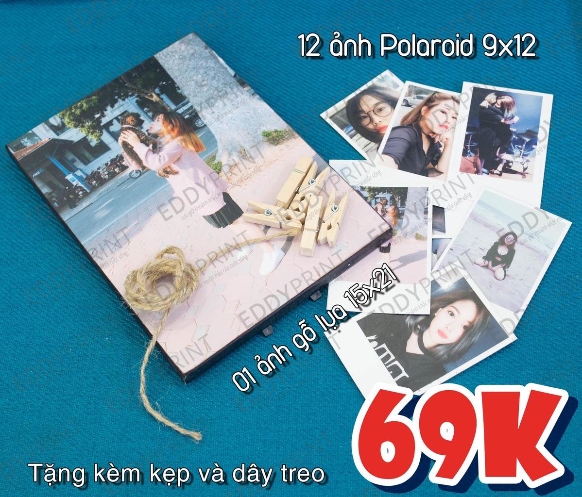 5 Combo in ảnh giá rẻ độc đáo cùng album polaroid