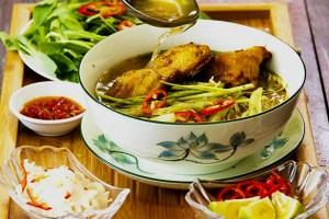 Bún Cá – Fish Noodle Soup