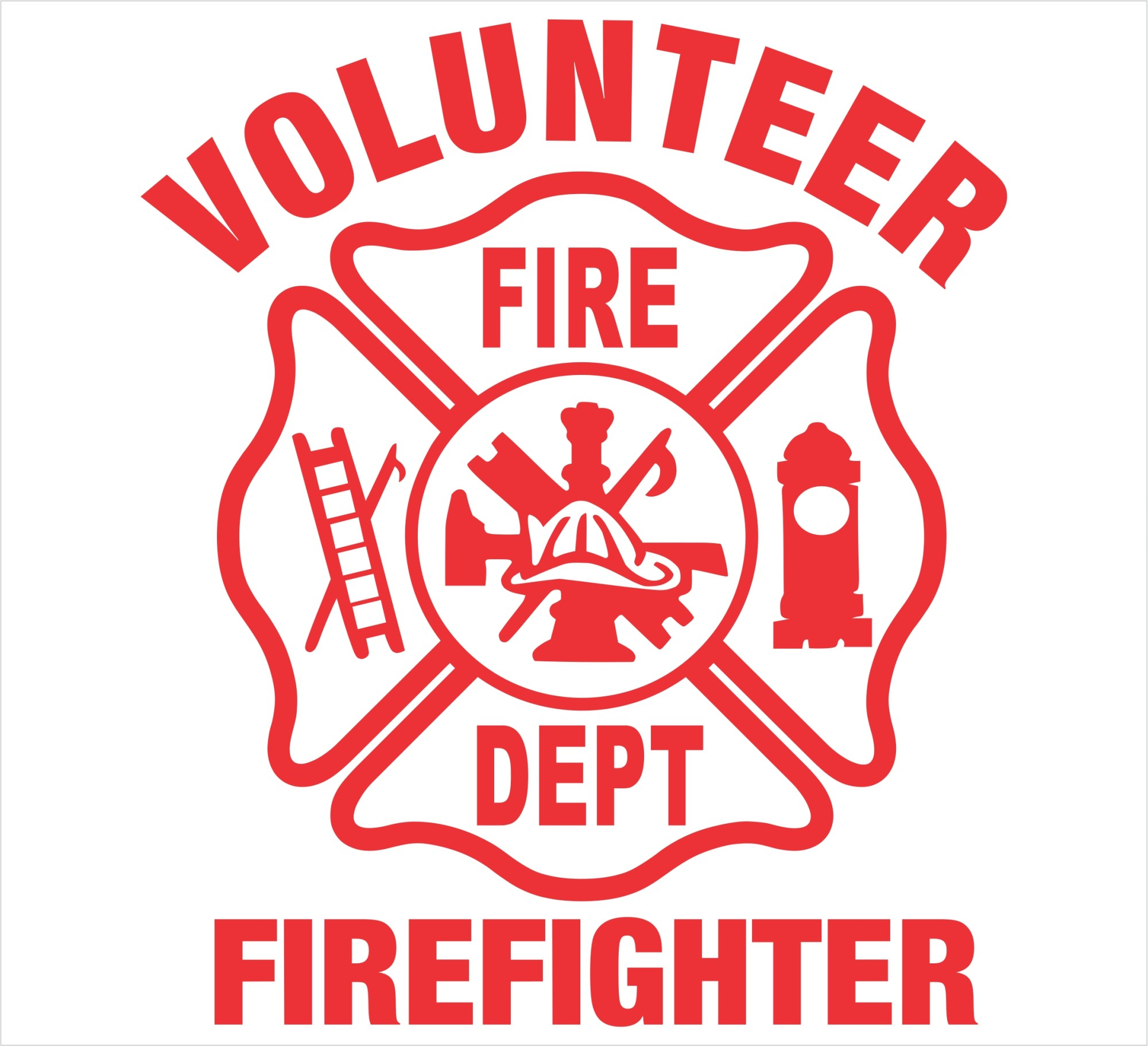 hight resolution of fire department maltese cross blank firefighter maltese xlwrjx clipart