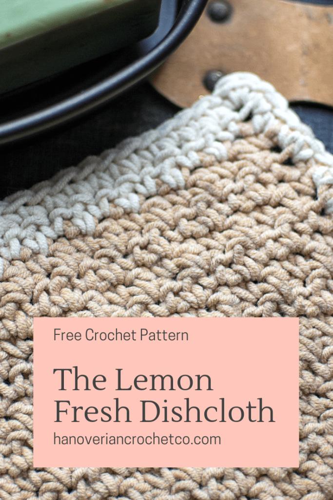 Lemon fresh dishcloth