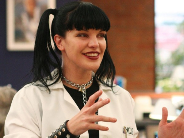 """Abby Sciuto - NCIS - """"Singled Out"""" -- The NCIS team (Pauley Perrette) is called to investigate a bloody, abandoned car registered to a missing Navy lieutenant, on NCIS, scheduled to air on the CBS Television Network. Photo: Monty Brinton/CBS ©2006 CBS Broadcasting Inc. All Rights Reserved."""