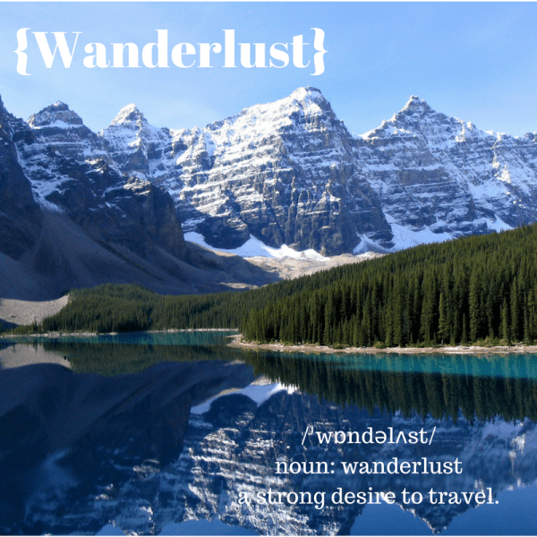 {Wanderlust}
