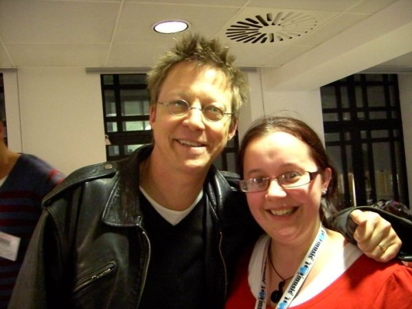 Simon Mayo and I