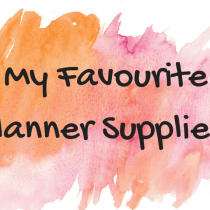 My Favourite Planner Suppliers