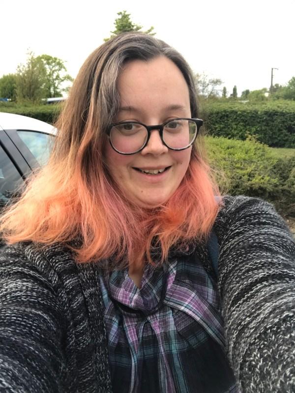 My selfie to help people identify me