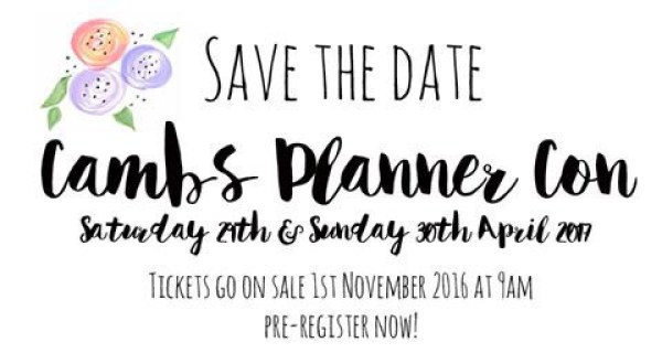 Cambs Planner Con 2017