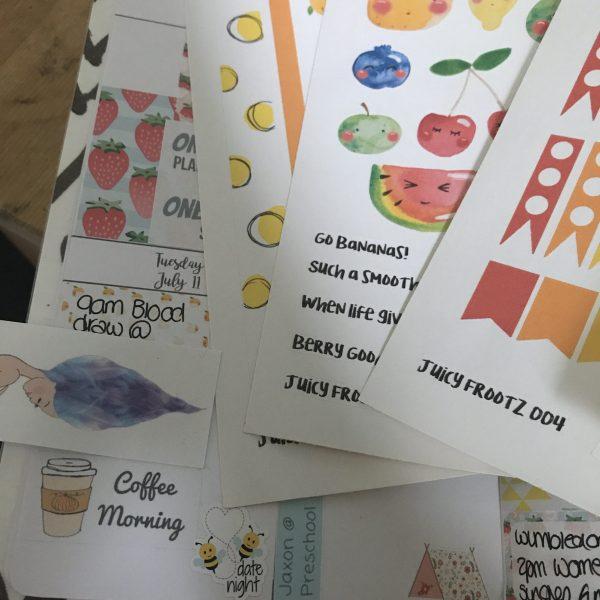 Brimbles Sticker Club - July