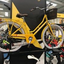 Beautiful Yellow Bicycle at Go Outdoors