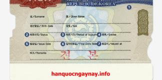 hanquocngaynay.info - Korean Visa