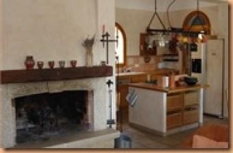Kamin Küche