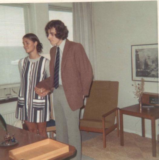 Hans und Viveka 1969
