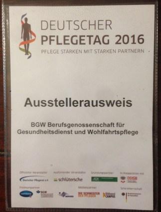 2016 - Deutsche Pflegetag