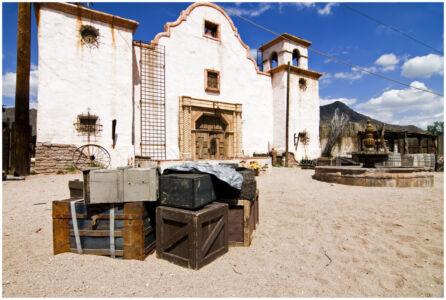 Old Tucson Church