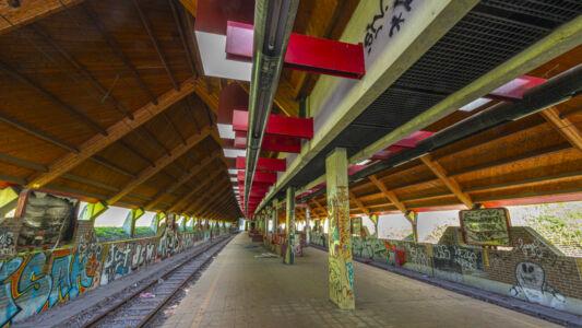Verlaten Metro Charleroi 2019-10