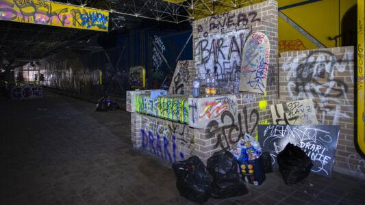 Verlaten Metro Charleroi 2019-18