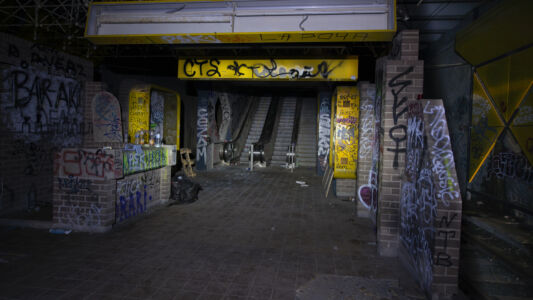 Verlaten Metro Charleroi 2019-19