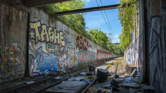 Verlaten Metro Charleroi 2019-20
