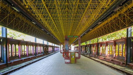 Verlaten Metro Charleroi 2019-4