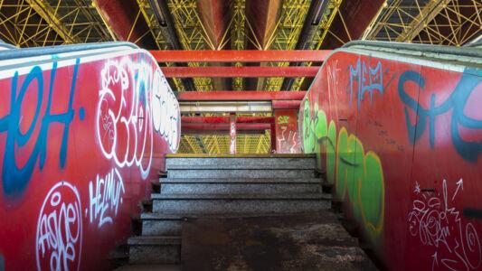 Verlaten Metro Charleroi 2019-5