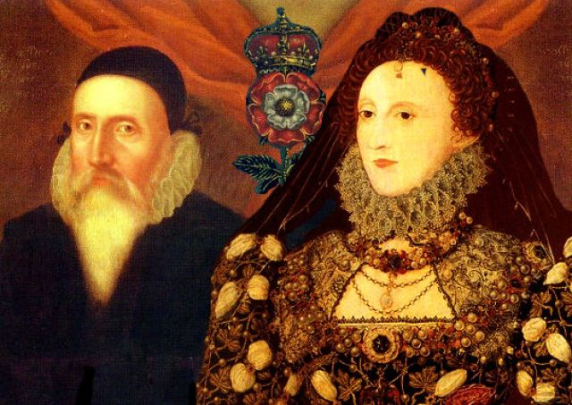 Queen Elizabeth and John Dee