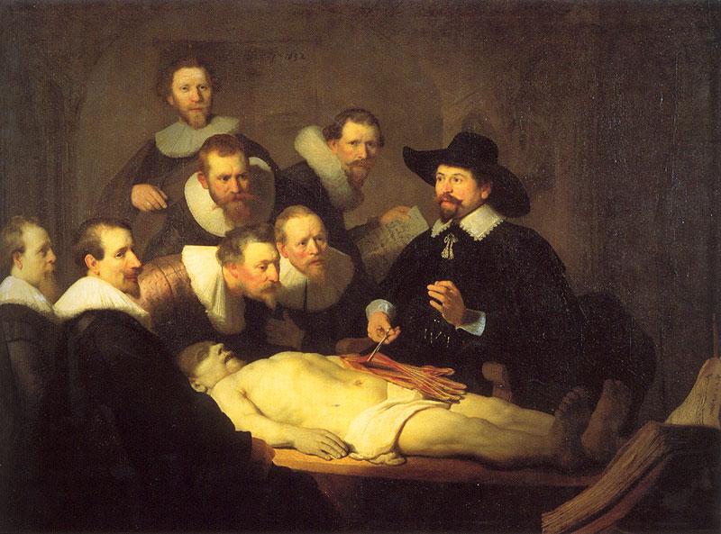 anatomical lesson