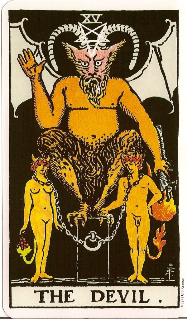 The Devil in the TAROT